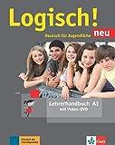 Logisch! neu: Lehrerhandbuch A1 mit Video-DVD