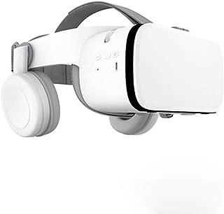 3D Glasses VR Headset Google Cardboard Bluetooth Virtual Reality Glasses Adjustable Eye Protection System Wireless VR Helmet for Smartphones