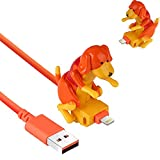 Cable De Carga Para Perros Callejeros, Cargador De Cable Usb Para TeléFono Inteligente, Juguete Para Perros En Miniatura Para Varios Modelos De TeléFonos MóViles PortáTiles