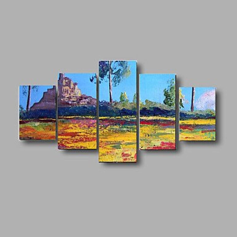 XHL Art handbemalte strukturierte Landschaft Landschaft Landschaft Ölgemälde Palette Wandkunst Bild gestreckten Rahmen , with stretched frame B07881QPJN | König der Quantität  c7c45c