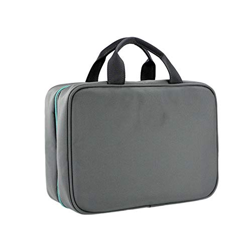 TWW Men's wash bag can be suspended travel multifunctional simple storage bag, gym bathroom waterproof shower bag women,Gray