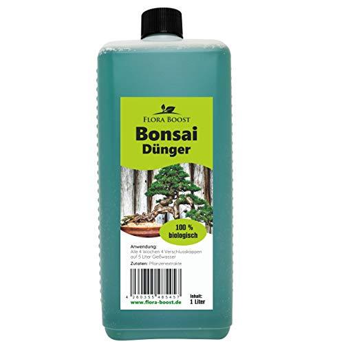 Konfitee Bonsai Dünger - Dünger für Bonsai - Flora Boost für gesunde Bonsai Bäume (1000 ml)