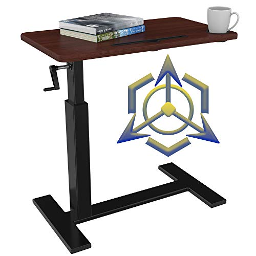 Overbed Table with Wheels,Balee Over Bed Table Height Adjustable Table Bedside Table Rolling Cart Laptop Desk Medical Overbed Tables Multi-Purpose Portable Tables.