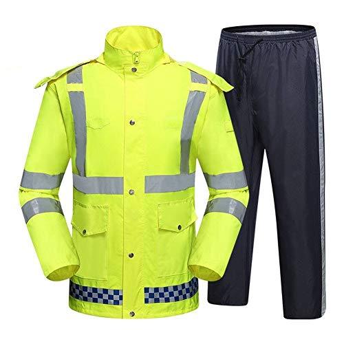 Werkkleding Hi Vis Viz Mens Zip Up Fleece Hoody Hooded Hi Viz Zichtbaarheid Sweatshirt Veiligheid Werk Jumper Top S