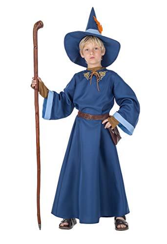 Banyant Toys Disfraz Mago Azul 10-12 años
