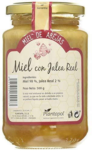 Planta Pol Miel Natural Con Jalea Real Bote Cristal 500 G 500 G 400 g