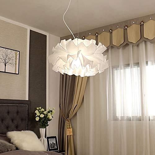Warm Home Romantische plafondlamp Dreamlike Light Iron Cloth spin slaapkamer eetkamer woonkamer restaurant winkel café tent E27 lampen aangenaam