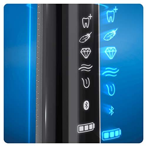 Oral-B Genius 10100S Black Elektrische Zahnbxfcrste mit Bluetooth