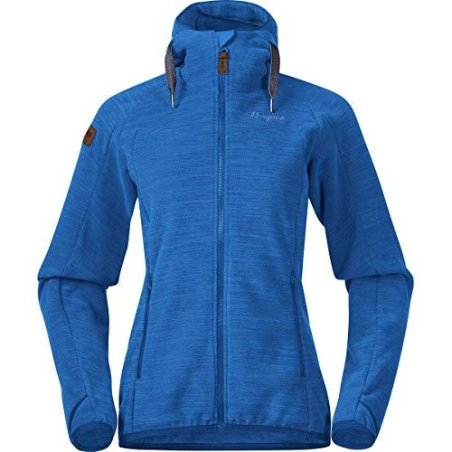 Bergans Damen Women's Hareid Fleece Jacket Fleecejacke Blau XL