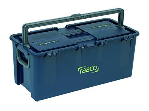 raaco 136617 Werkzeugkoffer Compact 50, dunkelblau
