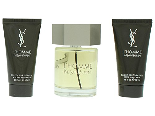 Yves Saint Laurent L 'Homme Set of Perfume, Duschgel und Aftershave Balsam, 200 ml