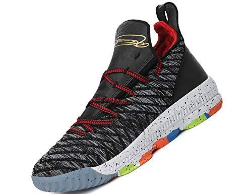 SINOES Basketball Schuhe High-Top-Dämpfung Licht Anti-Skid AtmungsAktive Outdoor-Sportschuhe Man Sneakers