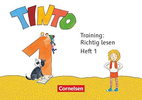 Tinto 1 1. Schuljahr - Training: Richtig lesen: Arbeitsheft 1+2 im Paket