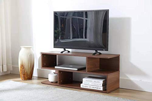 TV Stand Floating Base for 32 Inch TVs Sideboard Storage Cabinet Brown