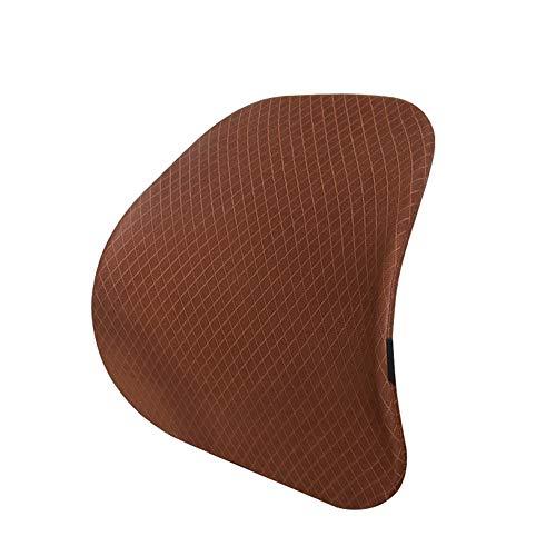 Lendenkussen, rugsteun, lendensteun, ergonomisch hoofdkussen van mesh voor zitting en bank, voor autostoel, bureaustoel, zitkussen A