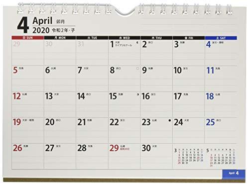 能率 NOLTY カレンダー 2020年 4月始まり A5 卓上 41 U241 ([カレンダー])