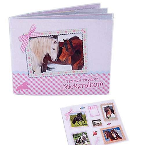 Sticker- Album Pferdefreunde