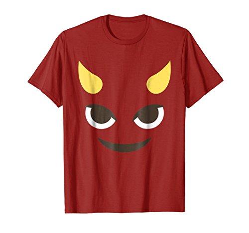 Devil Emoji Face T-Shirt No Background