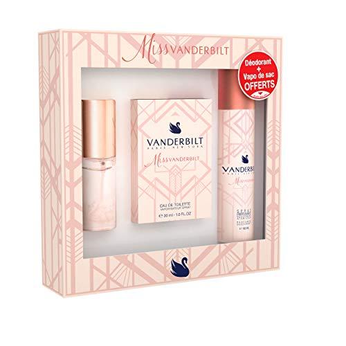 VANDERBILT - Coffret - MISS VANDERBILT - Eau de toilette 30ml + Déodorant 150 ml + Vapo de sac 15ml