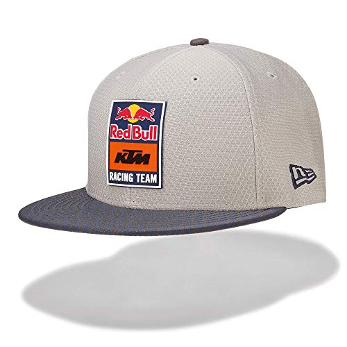 Red Bull KTM New Era 9Fifty Hex Era Flapcap, Gris Unisex One Size Kappe, KTM Factory Racing Original Bekleidung & Merchandise