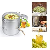 Steam Juicer Steamer Natural Juice Cooking Food Aluminum 1.58 Gal / 6 Liters