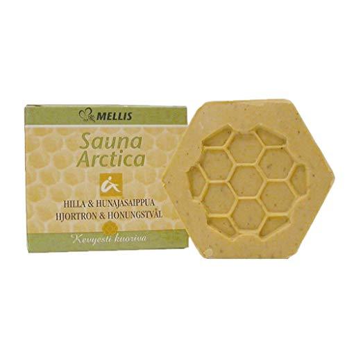 Finnische Honigseife Sauna Arctica - Peeling Seife mit Multebeeren 90g by SudoreWell® - Das Original aus Finnland