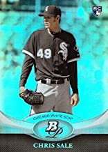 2011 Bowman Platinum Baseball #35 Chris Sale Rookie Card