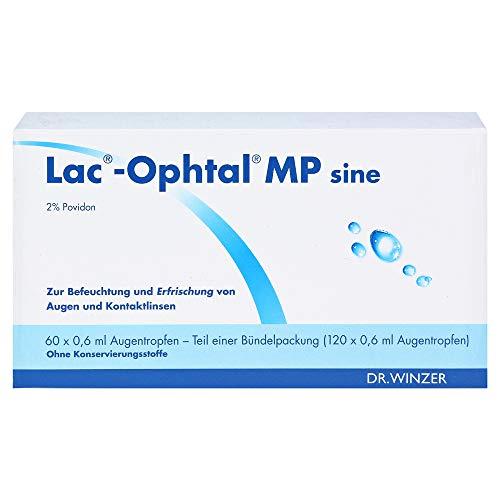 Lac Ophtal MP Sine, 120X0.6 ml