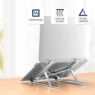 ZOYUBS ノートパソコン スタンド PCスタンド パソコンスタンド PCラップトップ スタンド タブレットPCスタンド タブレットホルダー タブレット スタンド ラップトップスタンド PCホルダー 10~17インチのデバイスに対応 折りたた...