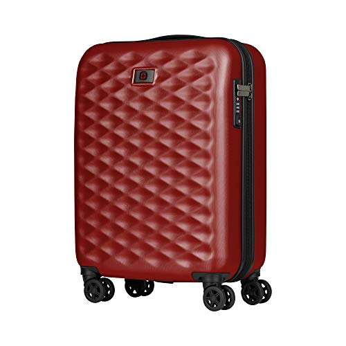 "Wenger Wenger Lumen 20"" Hardside Luggage Global Carry-On - Red Maleta, 54 cm, 32 Liters, Rojo (Red)"