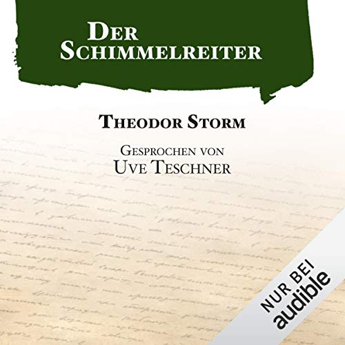 Der Schimmelreiter audiobook cover art