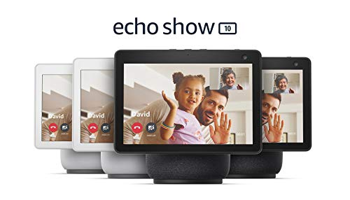 Family Communication Pack | HD smart display with motion and Alexa | 2 Charcoal + 2 Glacier White