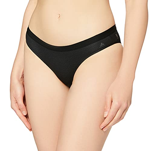 Odlo Damen Unterhose SUW Bottom Brief Active F-Dry Light, Black, L, 141091