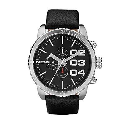 Diesel Reloj Cronógrafo para Hombre de Cuarzo con Correa en Cuero DZ4208