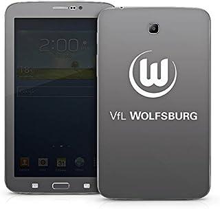 Samsung Galaxy Tab 3 7.0 7.0 Case Skin Sticker aus Vinyl-Folie Aufkleber VFL Wolfsburg Fanartikel Wölfe Bundesliga