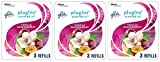Glade PlugIns Scented Oil Refill Vanilla Passion Fruit, Essential Oil Infused Wall Plug In, Up to 50 Days of Continuous Fragrance, 2.01 FL OZ, Pack of 3 (Packaging May Vary) (Thrее Рack)