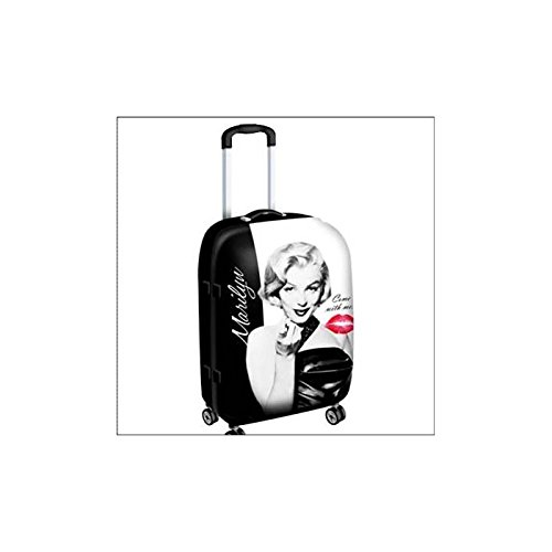 Marilyn Monroe Kiss Suitcase Large