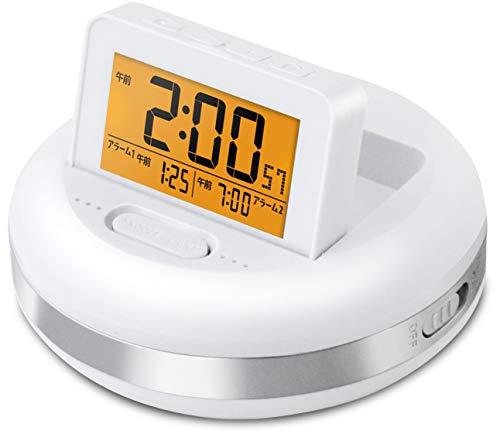 【2019年新モデル】目覚まし時計 振動式(バイブレーション) デジタル 振動アラームクロック ブルブル・クラッシュ ADESSO(アデッソ) MY-106DI