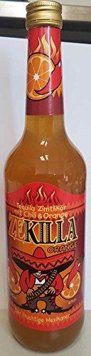 Zekilla - Tequila Orange Getränk - 700ml - 20% Vol. ab 18 Jahren
