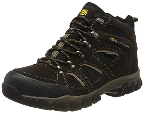 Karrimor Bodmin IV Weathertite, Men's Trekking and Hiking Shoes, Dark Brown, 10 UK
