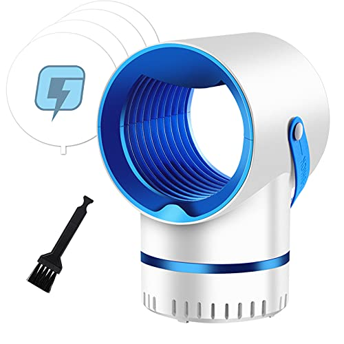 Fly Trap,Fruit Fly Trap,Mosquito Killer,Mosquito Trap,Gnat Trap,Gnat Killer,Mosquito Killer Lamp,Mosquito Zapper,Fruit Fly Insect Killer for Indoor,Bug Zapper with Light Trap Insect, USB Powered