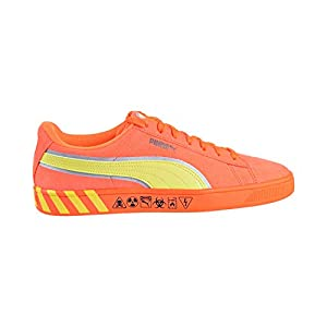 PUMA Men's Hazard Orange Sneaker