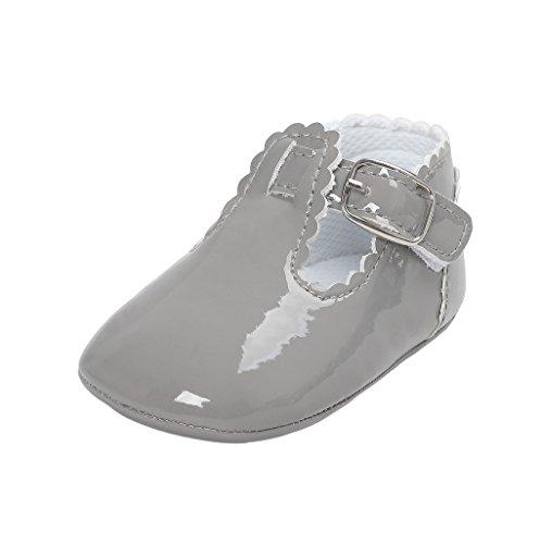 Primeros Zapatos para Caminar,Auxma La Princesa del bebé Sola Suave Calza Las Zapatillas de Deporte del niño Zapatos Ocasionales