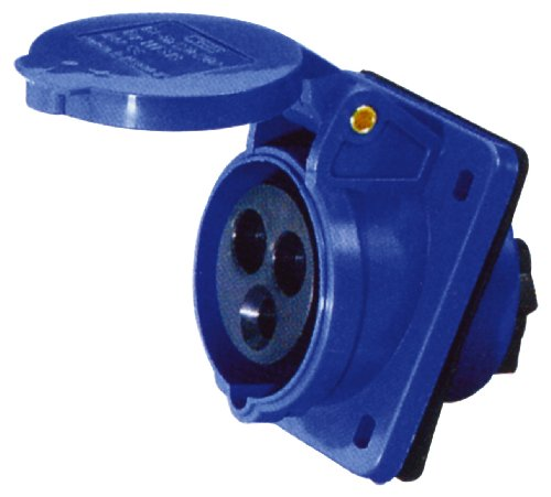 CEE Steckdose Abgewinkelt Blau 230V 32A E302BF
