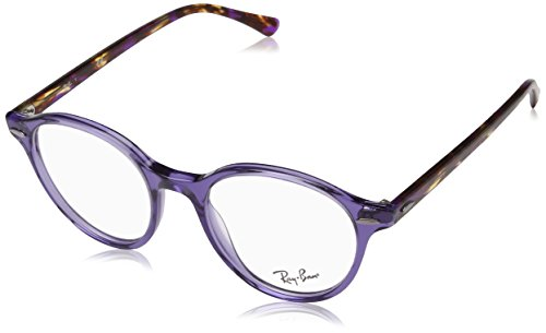 Ray-Ban 7118, Montature Unisex-Adulto, Viola (Violet), 48