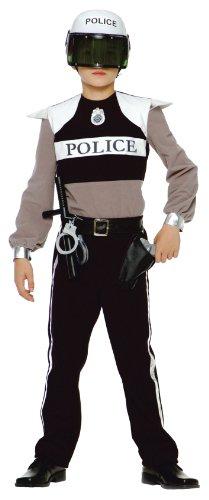 Caritan - Costume - Panoplie Policier - 3-4 ans