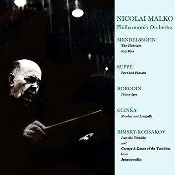 Nicolai Malko Conducts Overtures