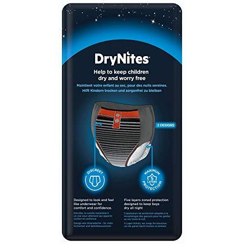 Huggies DryNites – Pyjama Pants para niños de 8-15 años (27-57 kg), 4 paquetes x 13 uds (52 unidades)