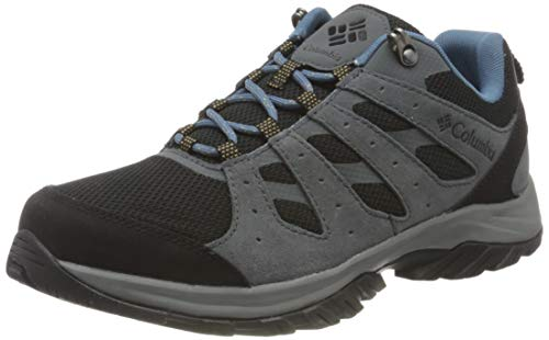Columbia Redmond III, Zapatillas para Caminar Mujer, Acero Negro, 38 EU