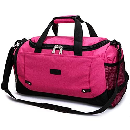Bolsa de Deporte Entrenamiento Bolsa de Gimnasio Hombres Mujer Bolsos de Fitness Durable Multifunción Handbag al Aire Libre Sporting Tote para Hombre, Bolsas de Viaje (Color : Blue)